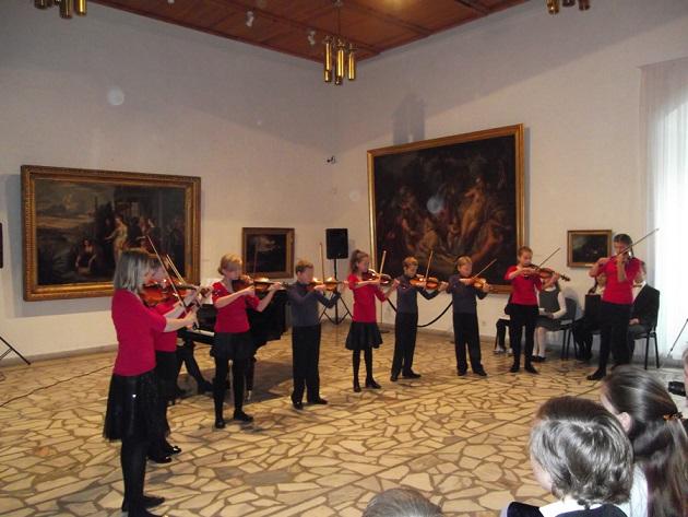 smuikininkai